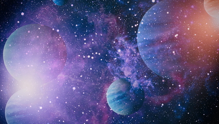Planet - Elements of this Image Furnished by NASA Zdjęcie Seryjne - 85000218