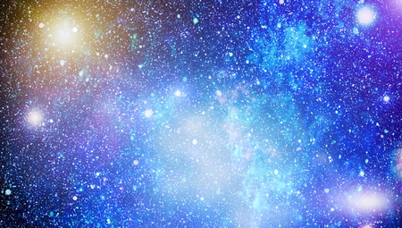 カラフルな星空空宇宙の背景