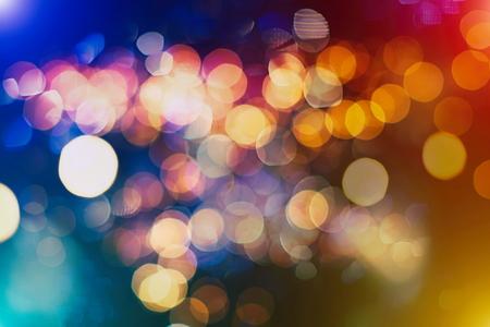 Colored Abstract Blurred Light Background Reklamní fotografie