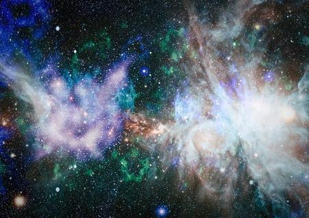 Absract Galaxy Elements