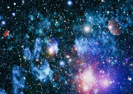 Star field in deep space many light years far from the Earth. Stock Photo
