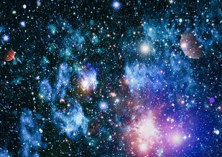 Star field in deep space many light years far from the Earth. Standard-Bild