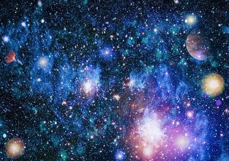 Star field in deep space many light years far from the Earth. Foto de archivo