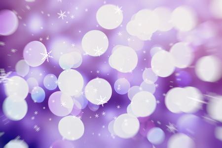 Christmas wallpaper decorations concept.xmas holiday festival backdrop:sparkle circle lit celebrations display. Stock Photo