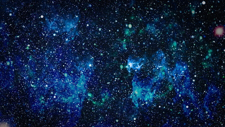 Panoramic looking into deep space. Dark night sky full of stars. The nebula in outer space. Stock Photo - 93793200