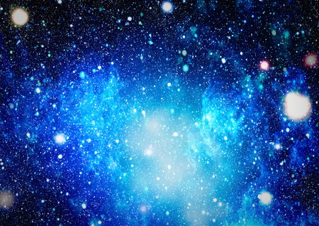 Panoramic looking into deep space. Dark night sky full of stars. The nebula in outer space. Stock Photo - 93787216