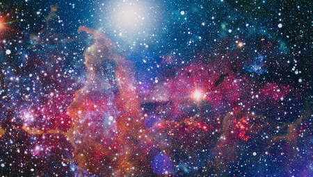 Small part of an infinite star field of space in the Universe.
