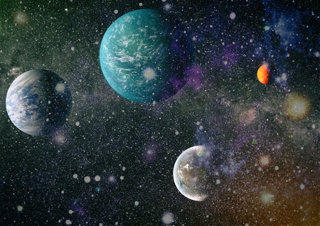 Universe concept background. Stock Photo