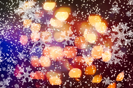 Abstract bokeh background.Can be used wallpaper texture and background for wed. Bokeh with copy space area for a text. Stock Photo