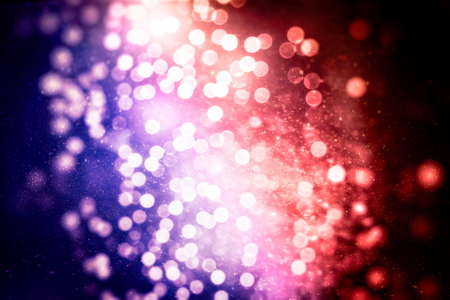Bright light spots abstract bokeh blurred texture background Banque d'images