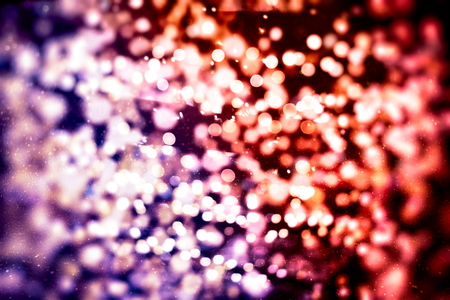 Bright light spots abstract bokeh blurred texture background Stock fotó