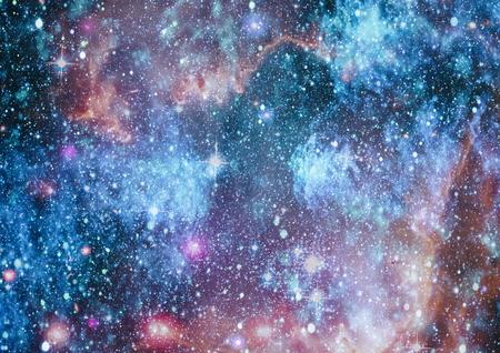 Stardust and nebula space. Galaxy creative background.
