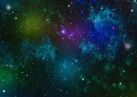 Milky way galaxy with stars and space. New large panoramic looking into deep space. Dark night sky full of stars. The nebula in outer space. Secrets of deep space.