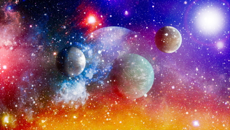 High quality space background. Stock Photo - 119632166