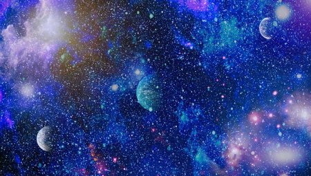 High quality space background. Stock fotó