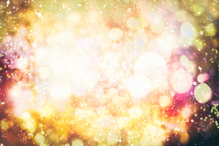 Christmas background,abstract texture, light bokeh background, Glitter vintage lights background.Lights on background. Stock Photo