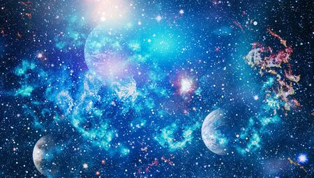 space many light years far from the Earth.