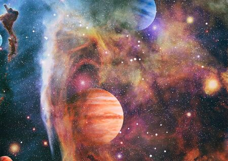 space many light years far from the Earth