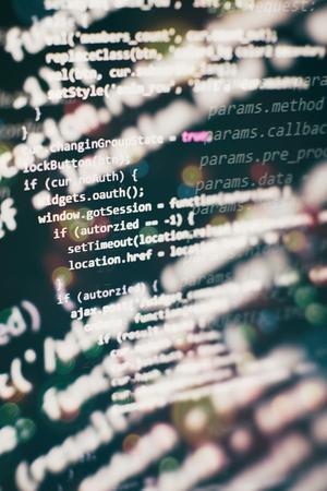 Programming source code HTML for Website development. Server logs analysis.