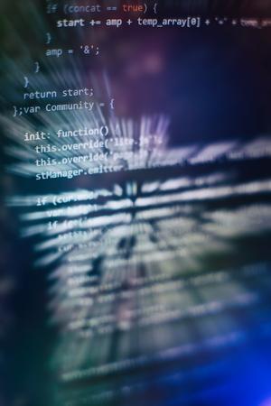 Software development. Internet security hacker prevention. SEO optimization. Modern tech. Imagens - 120669603