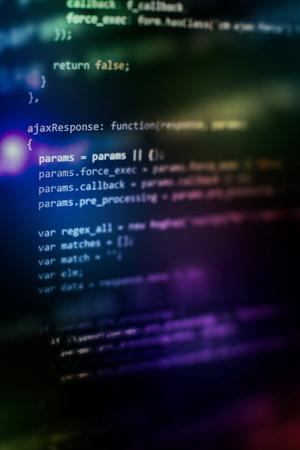 Software development. Internet security hacker prevention. SEO optimization. Modern tech. 写真素材
