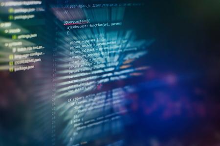 Développement de logiciels. Prévention des pirates de sécurité Internet. Optimisation du référencement. Technologie moderne. Banque d'images