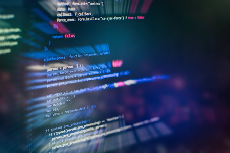 Software development. Internet security hacker prevention. SEO optimization. Modern tech. Stok Fotoğraf