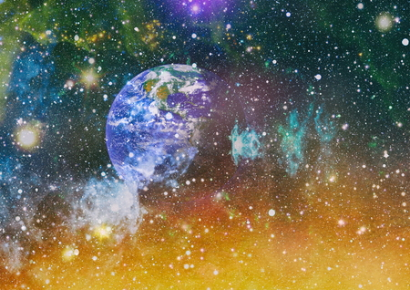 Deep space. Science fiction fantasy in high resolution ideal for wallpaper.