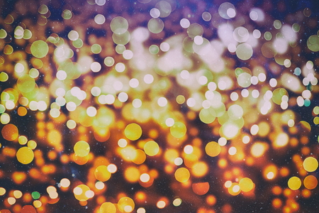 Blurred bokeh light background, Christmas and New Year holidays background 版權商用圖片