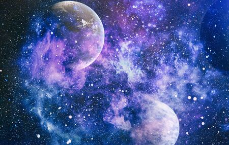 planets, stars and galaxies in outer space showing the beauty of space exploration. 写真素材