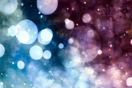 Vintage Magic background with colorful bokeh. Spring Summer Christmas New Year disco party Фото со стока - 130133308