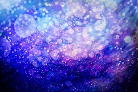 Vintage Magic background with colorful bokeh. Spring Summer Christmas New Year disco party Фото со стока - 130133521