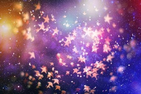 Bright light spots abstract bokeh blurred texture background Фото со стока - 130133925