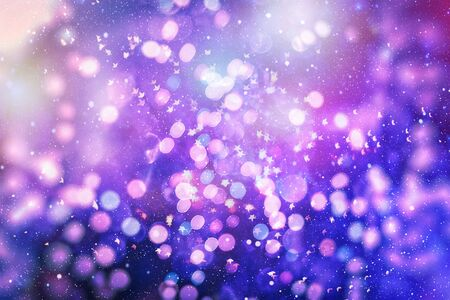 Bright light spots abstract bokeh blurred texture background Фото со стока - 130133926
