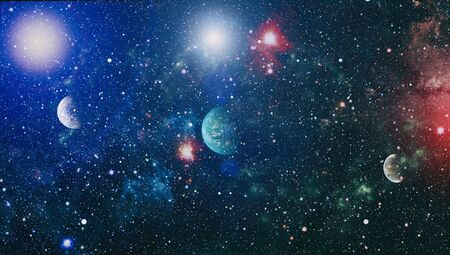 Star field in deep space many light years far from the Earth. Stok Fotoğraf