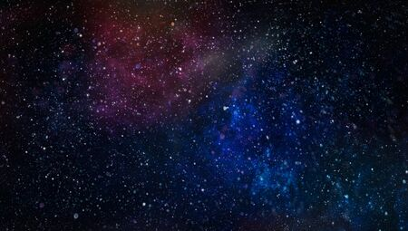 Abstraction space background for design. Mystical light , Mystical light .Colorful Starry Night Sky Outer Space background Фото со стока - 131308111