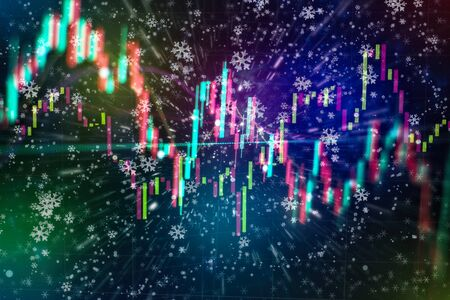 Stock trading, crypto currency background.The business plan at the meeting and analyze financial numbers to view the performance of the company.
