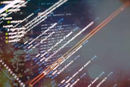 Software development. Internet security hacker prevention. SEO optimization. Modern tech. Фото со стока - 134618897