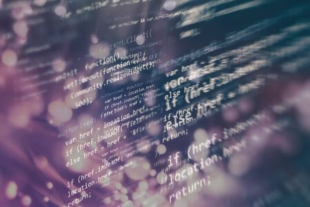Programming source code HTML for Website development. Фото со стока - 134689074