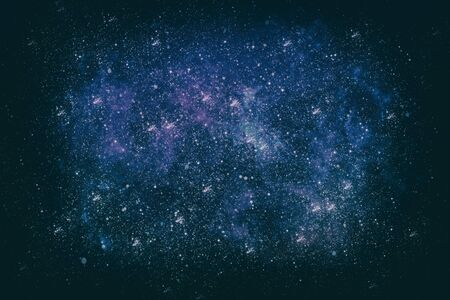 Stars and galaxies in outer space showing the beauty of space exploration. 写真素材