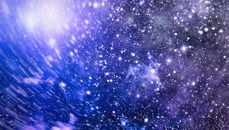 Galaxy with stars and space in the universe