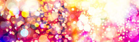 Blurred bokeh, Bokeh light vintage background, Abstract colorful defocused dot, Soft focus Фото со стока