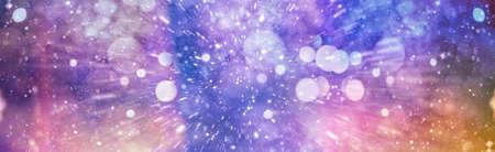 Blurred bokeh, Bokeh light vintage background, Abstract colorful defocused dot, Soft focus Banque d'images