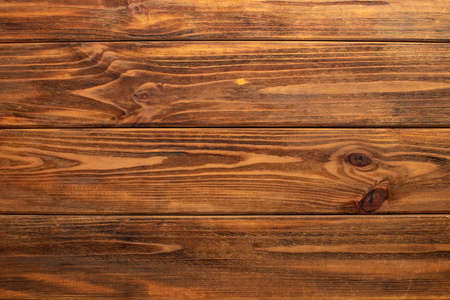 Wooden brown retro shabby planks wall, table or floor texture banner background.Wood desk photo mockup wallpaper design for decoration. Zdjęcie Seryjne - 161632261