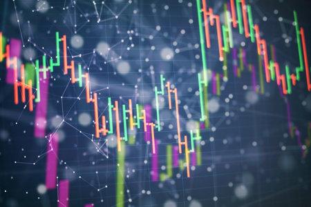 Working set for analyzing financial statistics and analyzing a market data. Zdjęcie Seryjne - 161848173