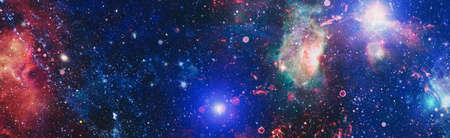Space background with nebulas and stars. 版權商用圖片