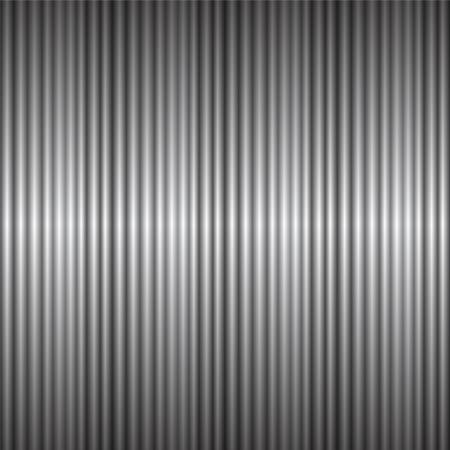 silvery: Seamless pattern silvery gray like sheet metal Illustration