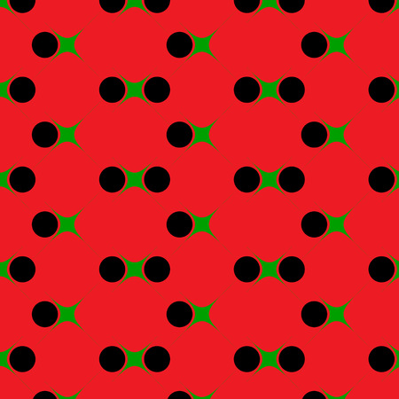 different shapes: Seamless pattern with geometrical figures of different shapes and colors