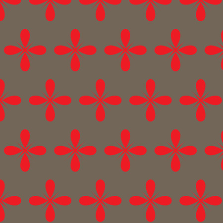 different figures: Seamless pattern with geometrical figures of different shapes and colors
