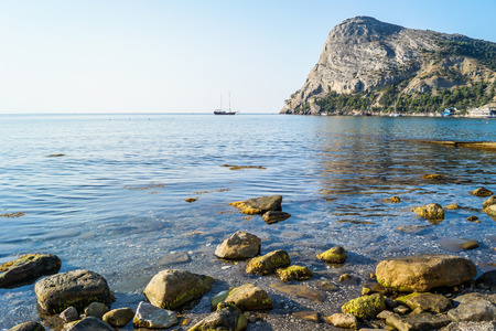 Mountains and nature of Crimea in the summer Stock Photo